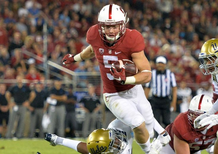Christian McCaffrey Stanford Carinal Valor Christian