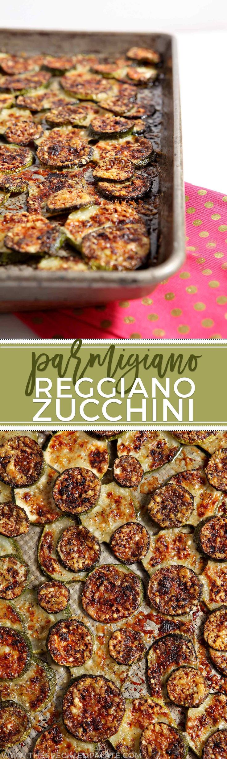 Parmigiano Reggiano Zucchini is a brilliant way to serve zucchini in the summer. With its melt-in-your-mouth richness, this is an all-time favorite summer side. #recipe #zucchini