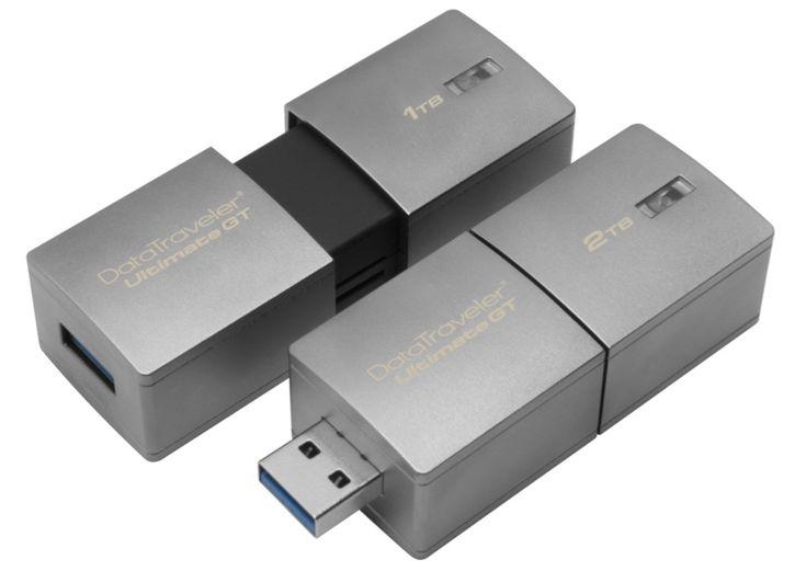 世界初、「2TB」のUSBメモリが登場。キングストンの『DataTraveler Ultimate GT』2月発売
