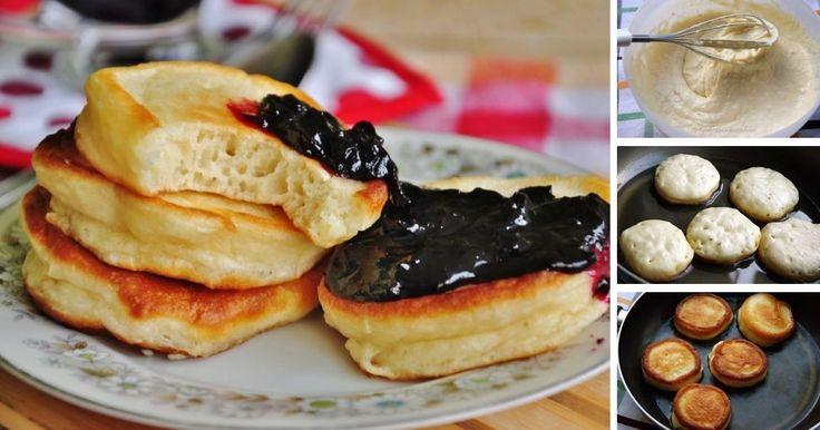 Vynikajúca voľba na pohodové víkendové raňajky. Vyskúšajte jemné lievance z kefírového cesta, ktoré najlepšie chutia s čerstvým ovocím, tvarohom, alebo domácou marmeládou.