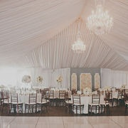Similar to the inside of your tent!Receptions Decor, Dance Floors, Studios Castillero, Events Design, Receptions Ideas, Blushes Botanical, Studiocastillero Com, Photography Studios, Ceilings Decor