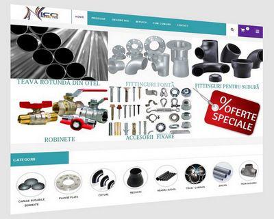 www.nicometaltub.ro cel mai nou magazin online de tevi, fitinguri si accesorii