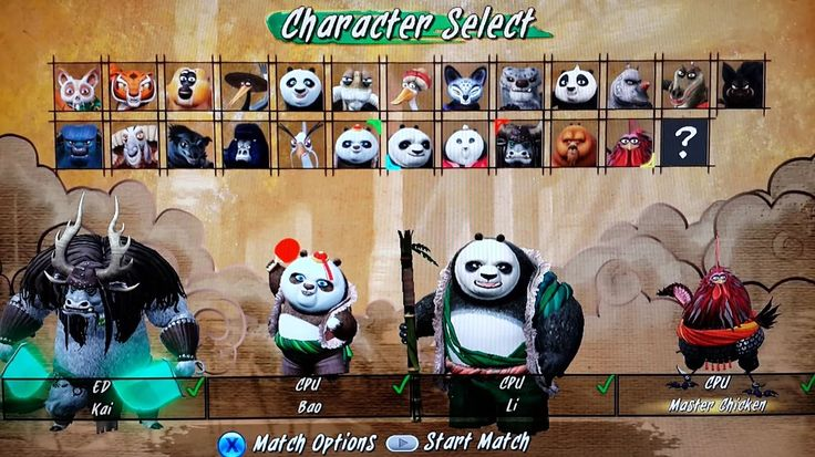 KUNG FU PANDA: SHOWDOWN OF LEGENDARY LEGENDS | Kai, BAO, Li, Master Chic...