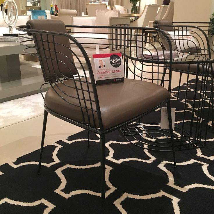 Vintage style meets modern contemporary this season like the Intertwined  Chair at Caracole Home. 78 best High Point Market Fall 2015  HpMkt2015 images on Pinterest