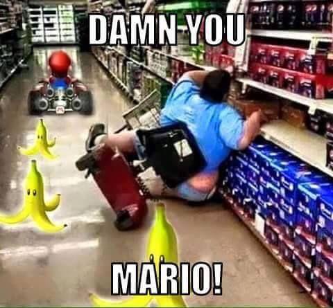 Damn you mario - funny memes - http://jokideo.com/damn-you-mario-funny-memes/