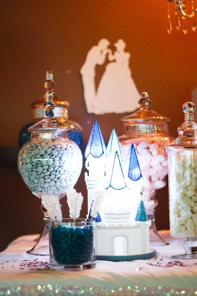 30th Birthday Cinderella Candy Buffet  All Styling By: Platinum Invitations & Candy Buffets