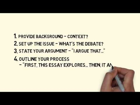 ASLC: Writing Introductions to Essays - Video 3