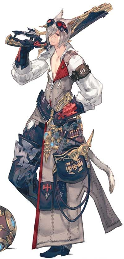 Final Fantasy XIV Cosplay -- Machinist Cosplay Costume Version 01