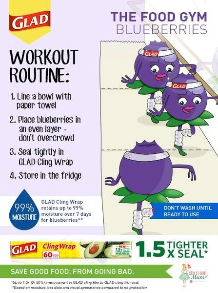 The Food Gym - How to Keep Blueberries Fresh #FoodGym