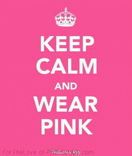 Breast Cancer Awareness #showyoursupport and take on this challenge with me. For one month wear something pink every day. #OctoberPINK xoxo Leanah