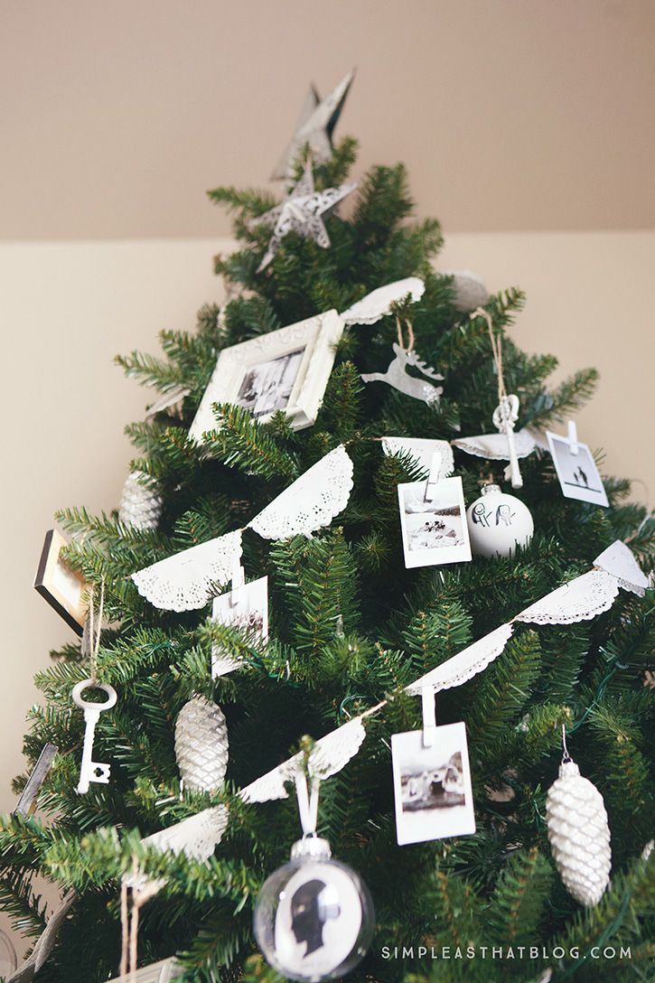 Trim the Christmas Tree with Instax Photos - simple as that