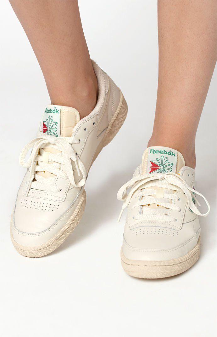 PacSun : Reebok Women's Club C Vintage Sneakers | Vintage