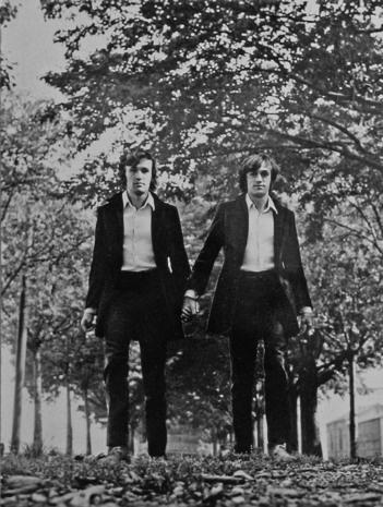 Alighiero Boetti, Gemelli (Twins), 1968. Courtesy of the Museum of Modern Art.