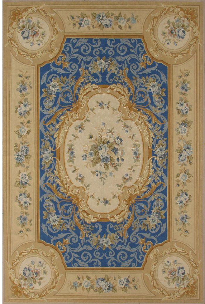 aubusson rugs | pure Silk Aubusson rug