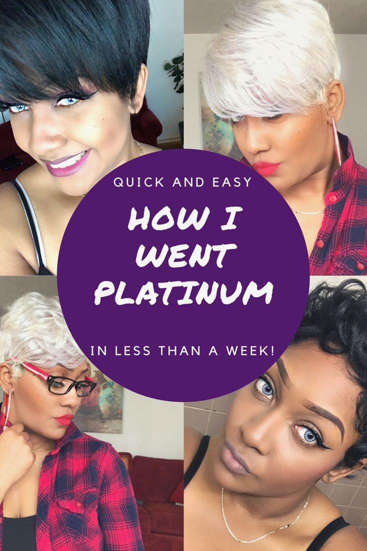 Watch me go from jet black hair to platinum in just 1 week with no damage. It definitely can be done