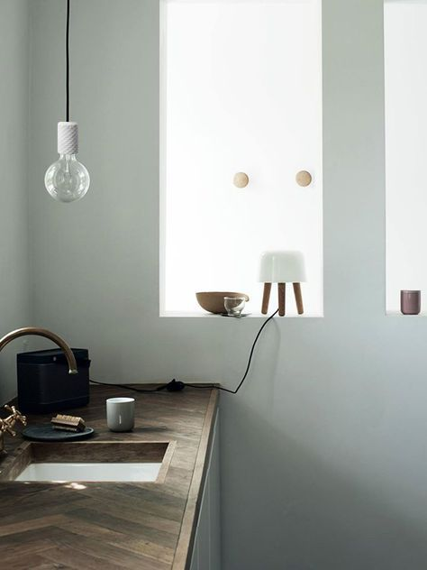 This Concrete Pendant Lamp brings ambience to your kitchen. Stylish and minimalistic design and the color of concrete and texitile cord can be fully customized to fit your personality and interior.