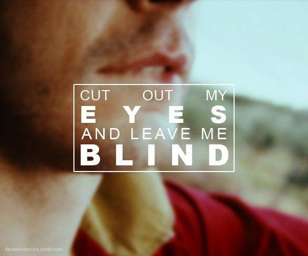 Blind From second album