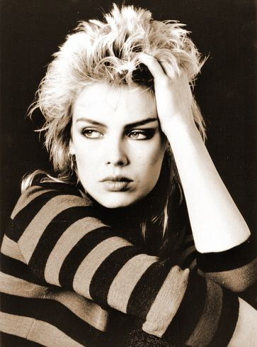 Kim Wilde, 1960-present day.  80's pop singer with hits such as 'Kids In America' and 'Keep Me Hanging On'.  Kim's Father was singer/songwriter Marty Wilde, who had hits in the 1960's.