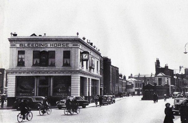 Bleeding Horse Pub on Camden St.