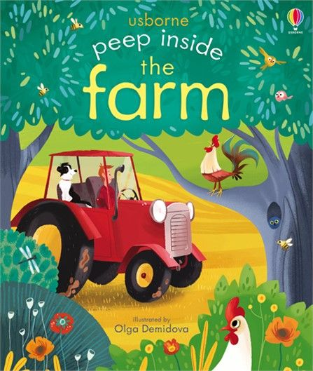 usborne peep inside the farm - Google Search
