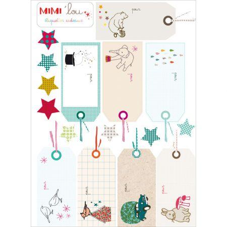Inspiration - etiquettes-cadeaux