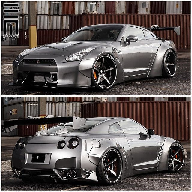 """Liberty Walk Nissan GTR built by @ExclusiveMotoring #ExclusiveMotoring #Miami #LibertyWalk #GTR"""
