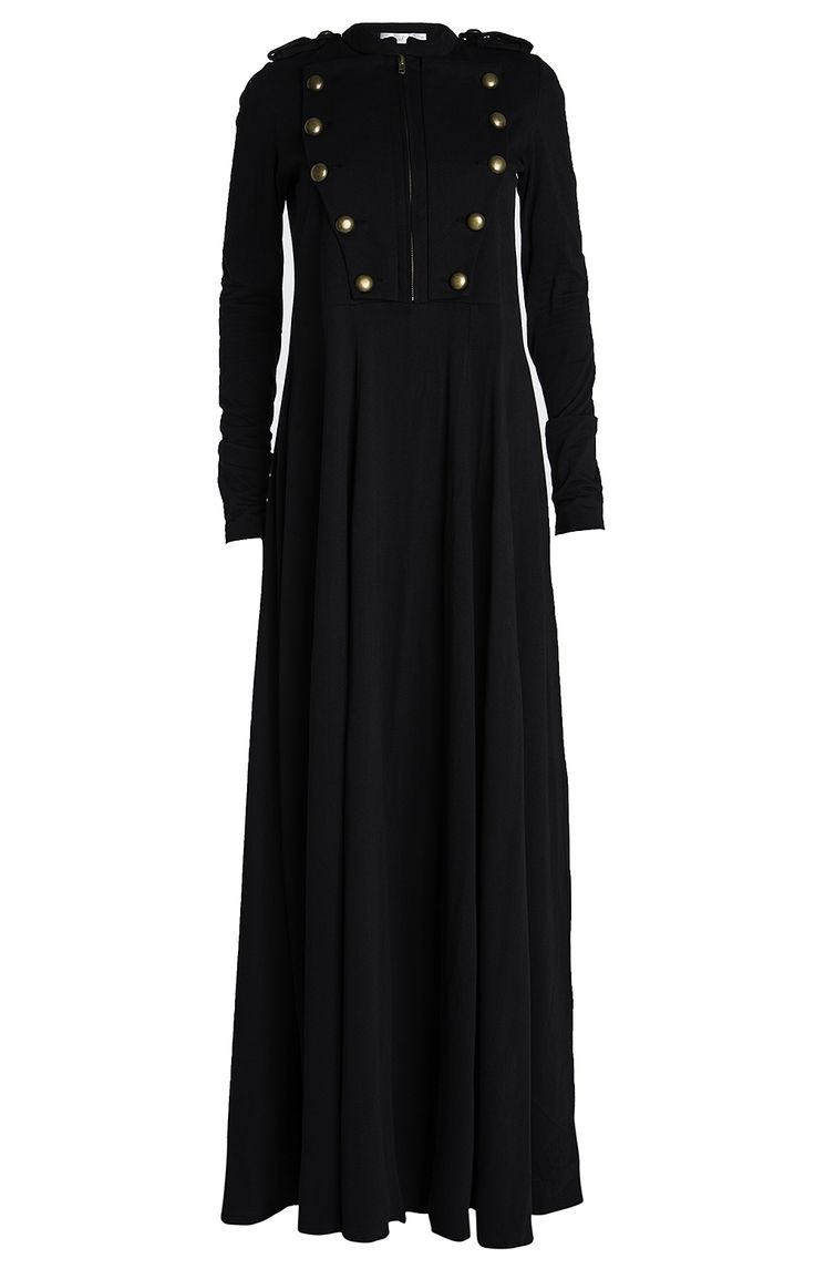 Uber cool military looking abaya from Aab UK Collection. Tis in my to-get list!