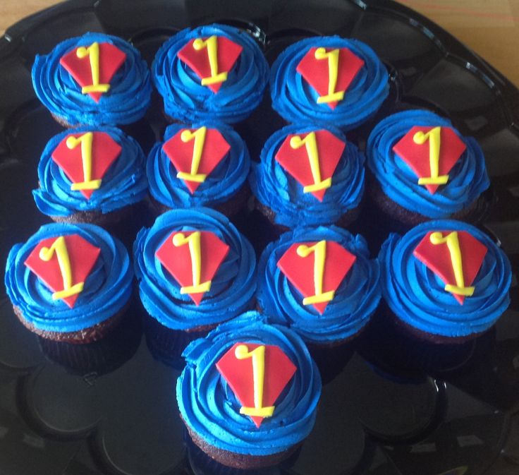 8 best Recipes to Cook images on Pinterest Superman cupcakes