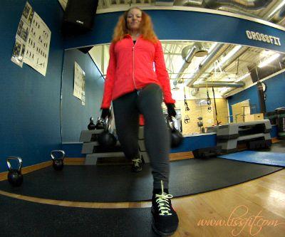 Dagens övning: Rear lunge/utfall