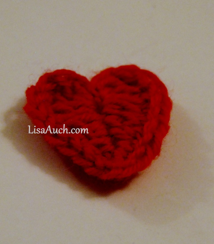 Easy to Crochet Heart