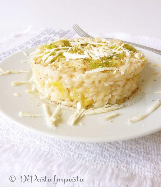 Di pasta impasta: Risotto con verza e ricotta salata