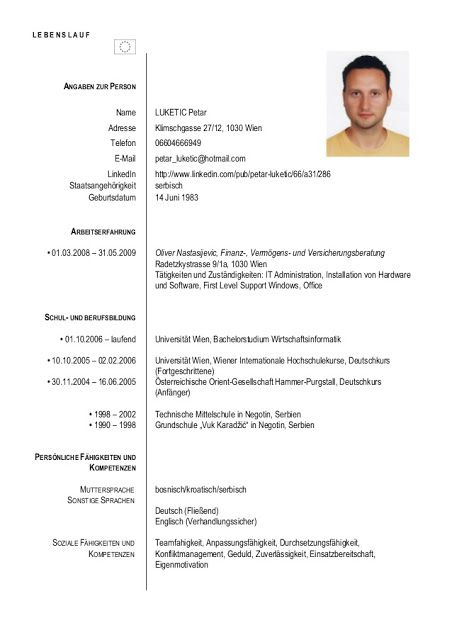 architekt lebenslauf 2019 - resume templates