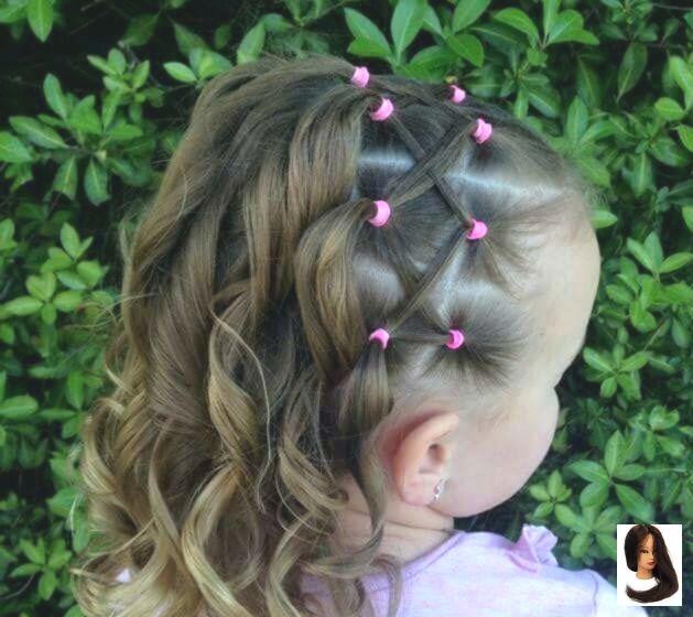 Cute Easy Easy Hairstyles Ponytail Haircuts Hairstyles Kids Ponyt Short Women Best Short Haircuts For Wo Penteados Faceis Penteados Infantis Penteados
