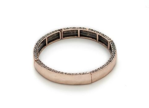 Stilen - Rose Gold Indiana Stretch Bracelet