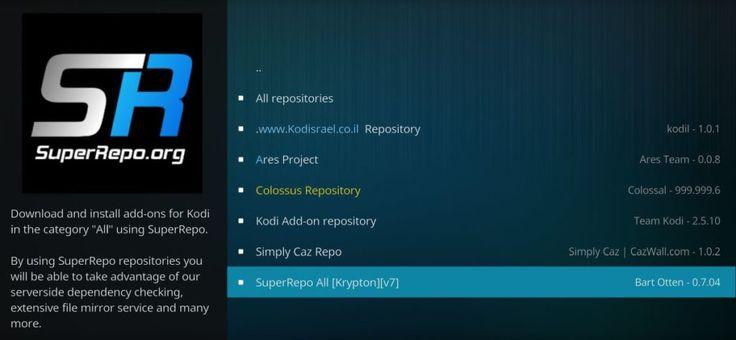 How to Install SuperRepo Repository on Kodi