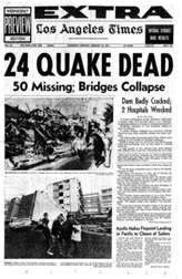 6.6 Sylmar Earthquake ~ San Frenando Valley 1971. Do you remember? I sure do, I lived in Sylmar at the time !