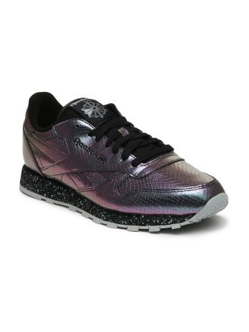 reebok classic metallic baseball shoe