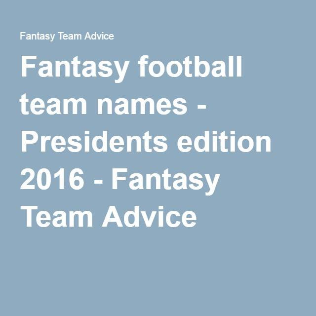 Cool fantasy football names