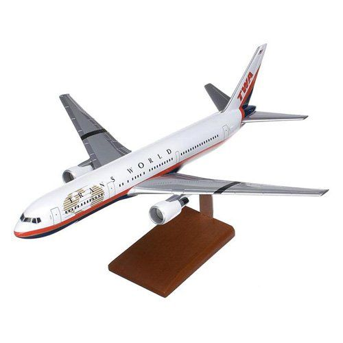 Daron Worldwide Boeing B767-300 TWA Model Airplane - KB767TWATR