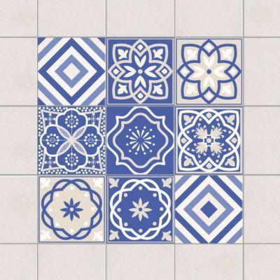 Fliesenaufkleber - Portugiesische Fliesen Set - Fliesensticker 10cm x 10cm Jetzt bestellen unter: https://moebel.ladendirekt.de/dekoration/wandtattoos/wandtattoos/?uid=0b12b31c-580c-5953-8c3f-ca5942677f8d&utm_source=pinterest&utm_medium=pin&utm_campaign=boards #heim #tattoos #dekoration
