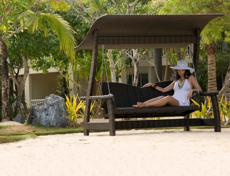 outdoor swing | ... Outdoor Swing With Canopy: For Your Outdoor Happiness: Outdoor Swing