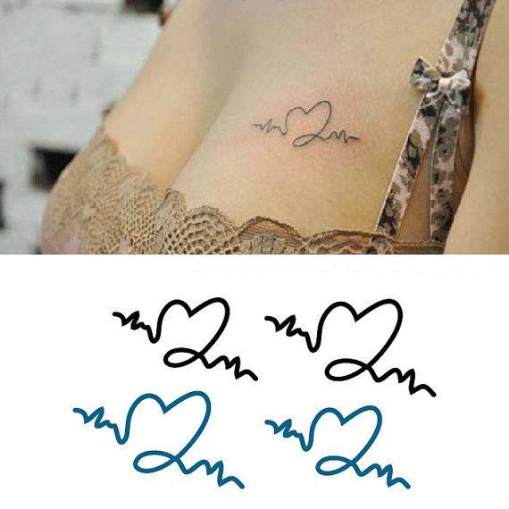 Tattoo Designs Ecg: 8 Best Leo Heart Tattoo Designs Waist Images On Pinterest
