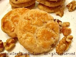 Image result for chinese walnut cookies