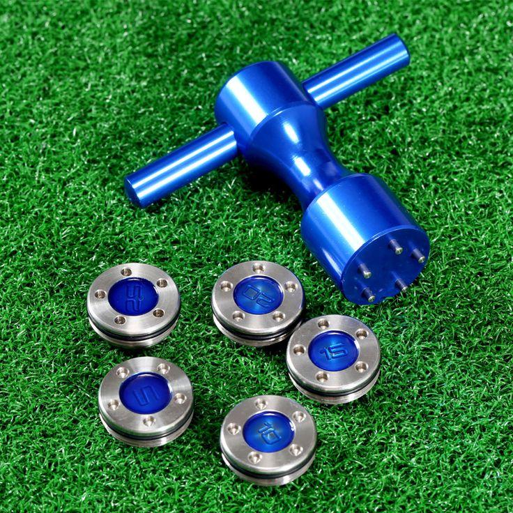 NUEVO 1 Unidades Golf Putter peso + Llave para Titleist Scotty Cameron Putter Azul 1 unid Golf Llave + 1 Par Pesa 5g 10g 15g 20g 25g