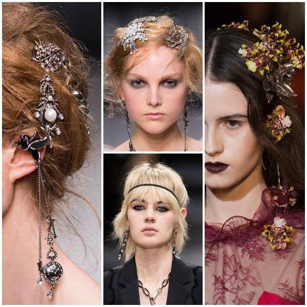 Saç aksesuarları bu sezonun favorileri arasında! Süslü tokalar, çiçek dalları, 1950'li yılların bandanaları ve vintage esintili taçlar bu yılın trendleri arasında...  #HandeHaluk #ulus #zorlu #zorluavm #zorlucenter #beautiful #beauty #style #hair #hairstyle #hairoftheday #hairfashion #inspiration #haircut