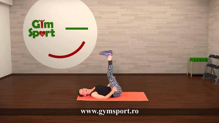 10 minute de exercitii pentru abdomen