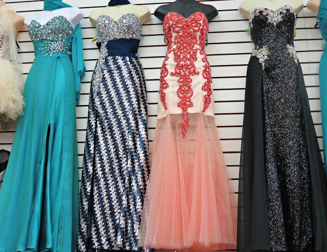Shopping for Prom dresses