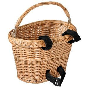SURELY I can find a basket at the thrift store and craft one of these bike baskets up for myself...SURELY....