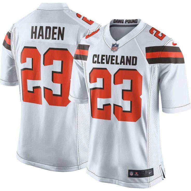 Nike Men's Away Game Jersey Cleveland Joe Haden #23, Size: Medium, Team