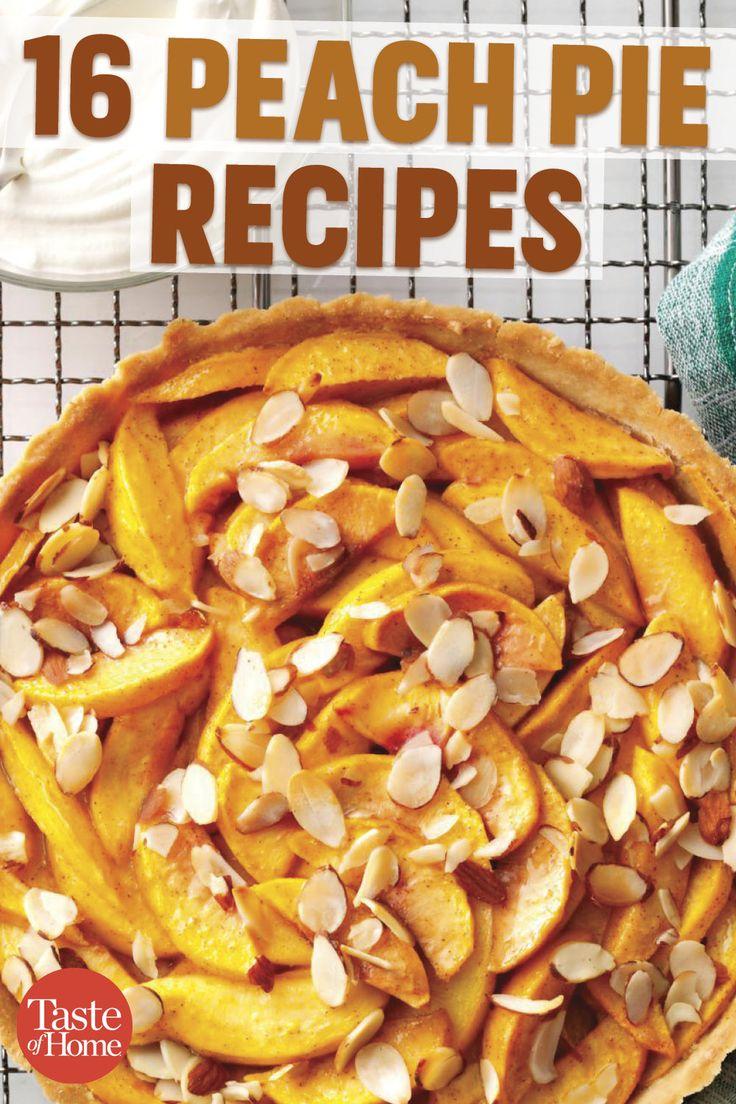 16 Peach Pie Recipes